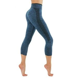 Pants - Dry-Fit Pants Workout Two Tone Color Leggings